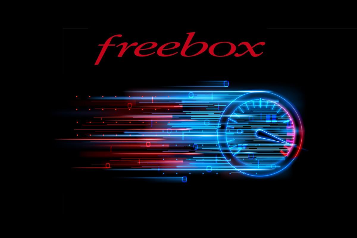 Free : vitesse des abonnements Freebox fibre