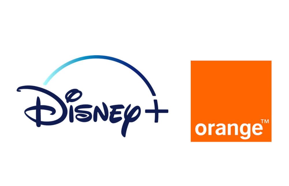 Logos de Disney+ et Orange