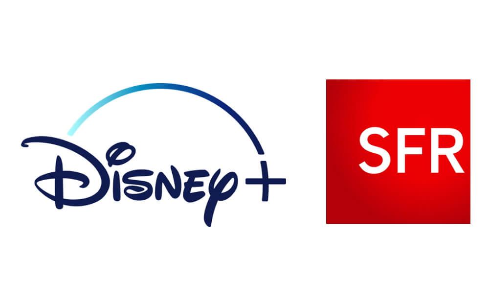 Logos de Disney+ et SFR