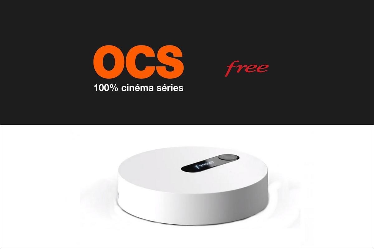 OCs est disponible chez Free directement sur le décodeur Freebox TV