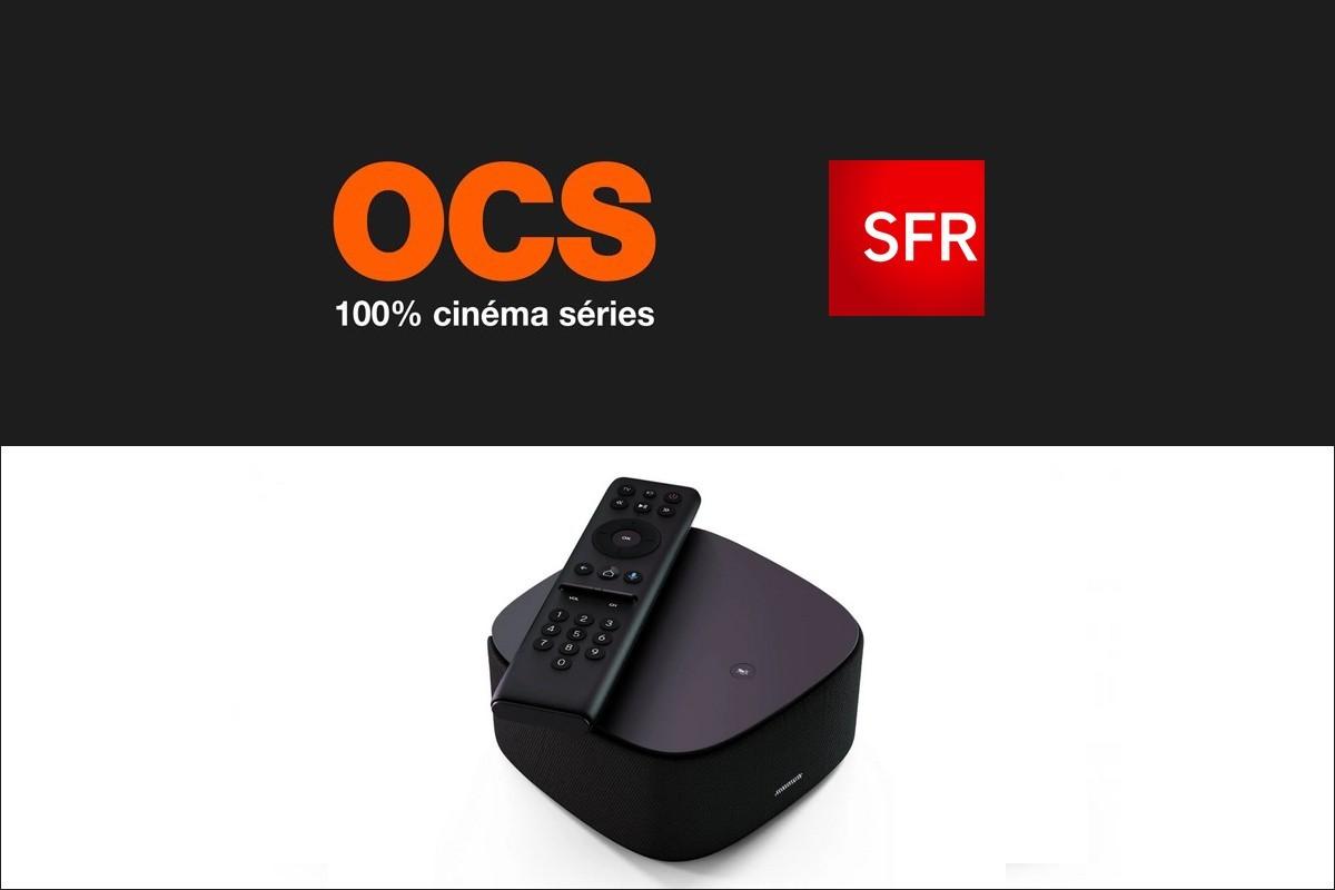 Tout ce qu'il faut savoir pour regarder le bouquet OCS sur la TV de SFR