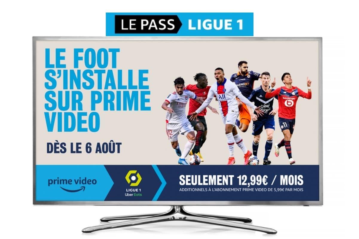 Amazon Prime Video Ligue 1 : c'est la nouvelle chaîne pour regarder la Ligue 1 avec Amazon