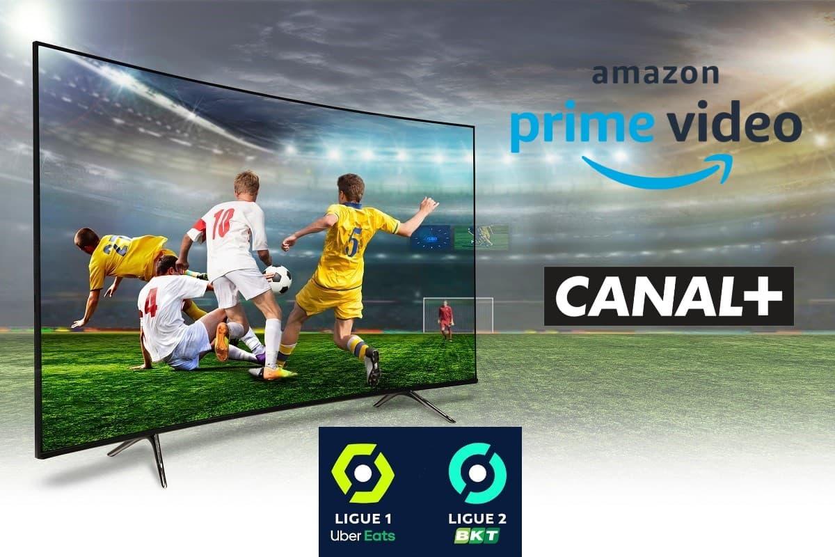 Pour regarder la Ligue 1 en 2021/2022, c'est soit sur Amzon Prime Video sur la chaîne Prime Video Ligue 1 ou sur Canal+