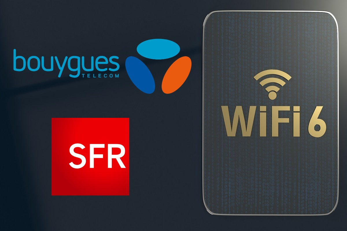Bouygues Telecom et SFR proposent des offres box avec le WiFi6.
