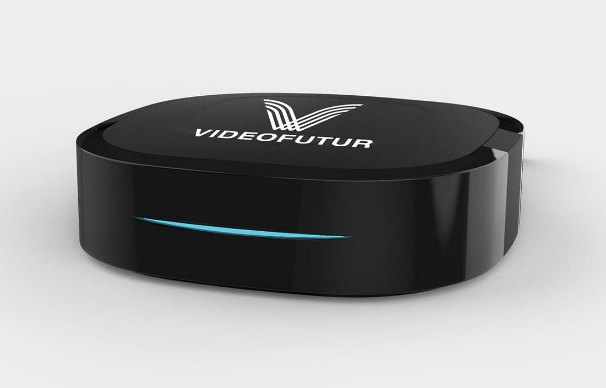 Box de l'opérateur fibre Videofutur