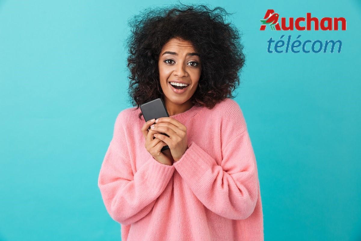 Profiter de la nouvelle série limitée Auchan télécom, le meilleur bon plan mobile du moment