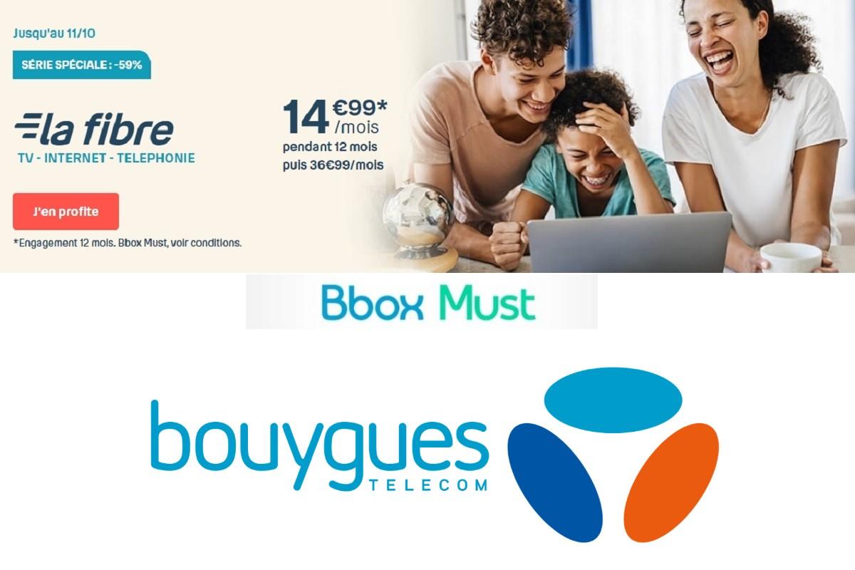 Plus que deux jours pour profiter de la Bbox Must à 15 euros