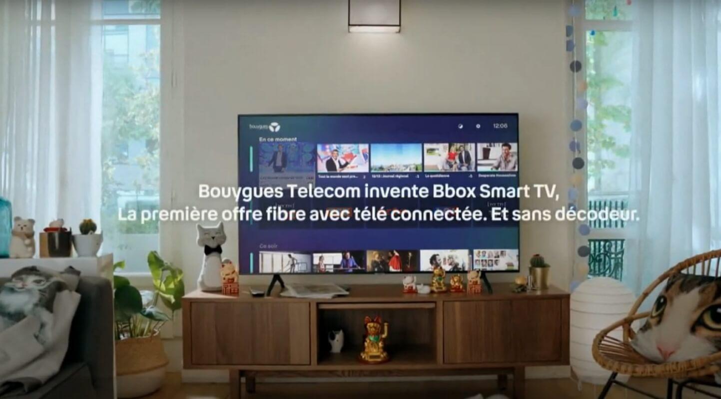 BBox Smart TV : télé Samsung avec Bouygues Telecom