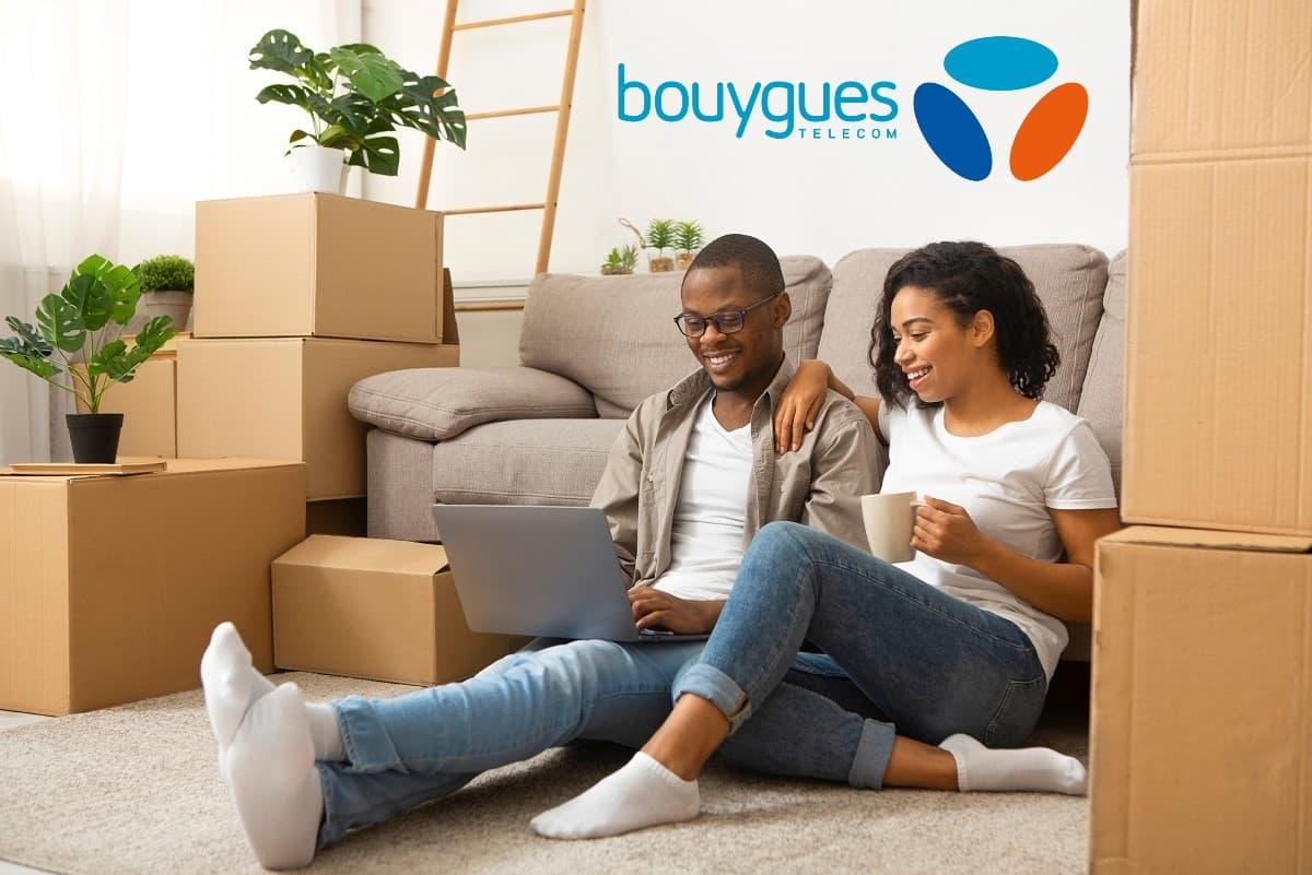 Grâce à votre bbox, Bouygues Telecom vous fait gagner un déménagement chaque jour
