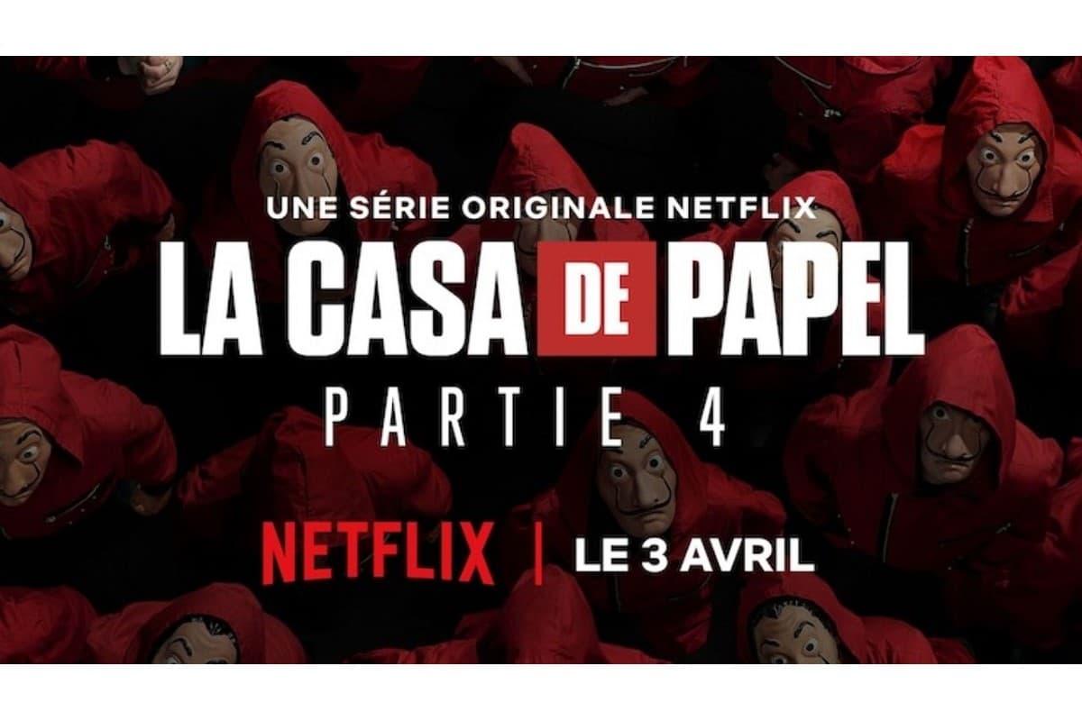 La saison 4 de La Casa de Papel sera disponible le vendredi 3 avril sur Netflix