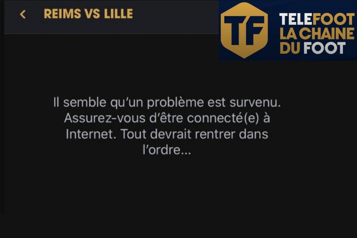 La diffusion de la Ligue 1 sur la chaîne Téléfoot a été perturbée par des dysfonctionnements.