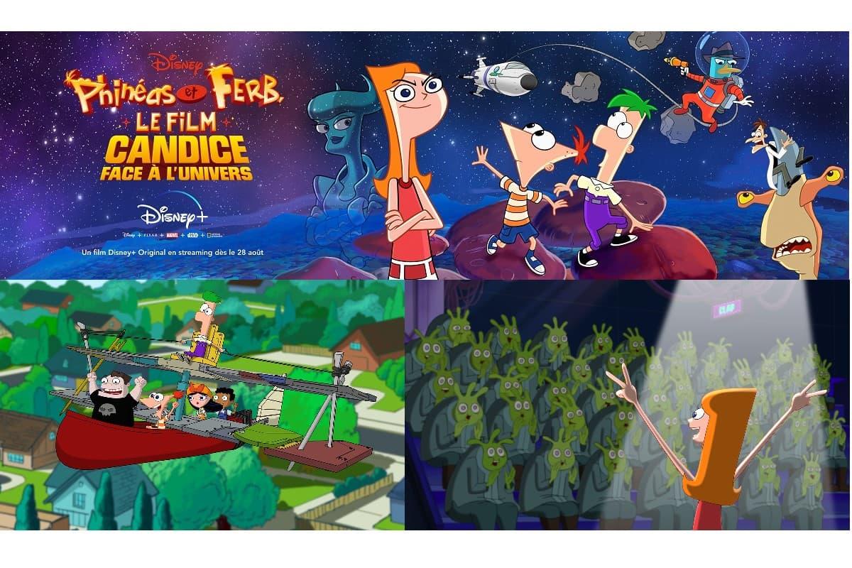 Phineas et Ferb, le film, disponible sur Disney+ le 28 août