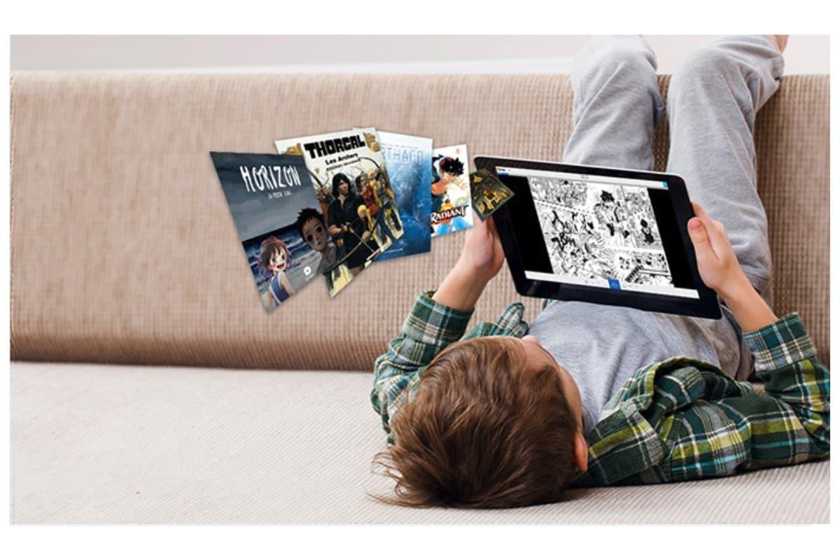 Pendant le confinement, la lecture numérique, et notamment Youboox et Izneo, est en plein boom.