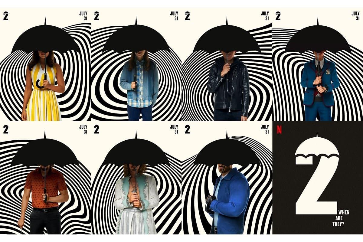 La saison 2 de la série à succès The Umbrella Academy sera disponible le 31 juillet sur Netflix