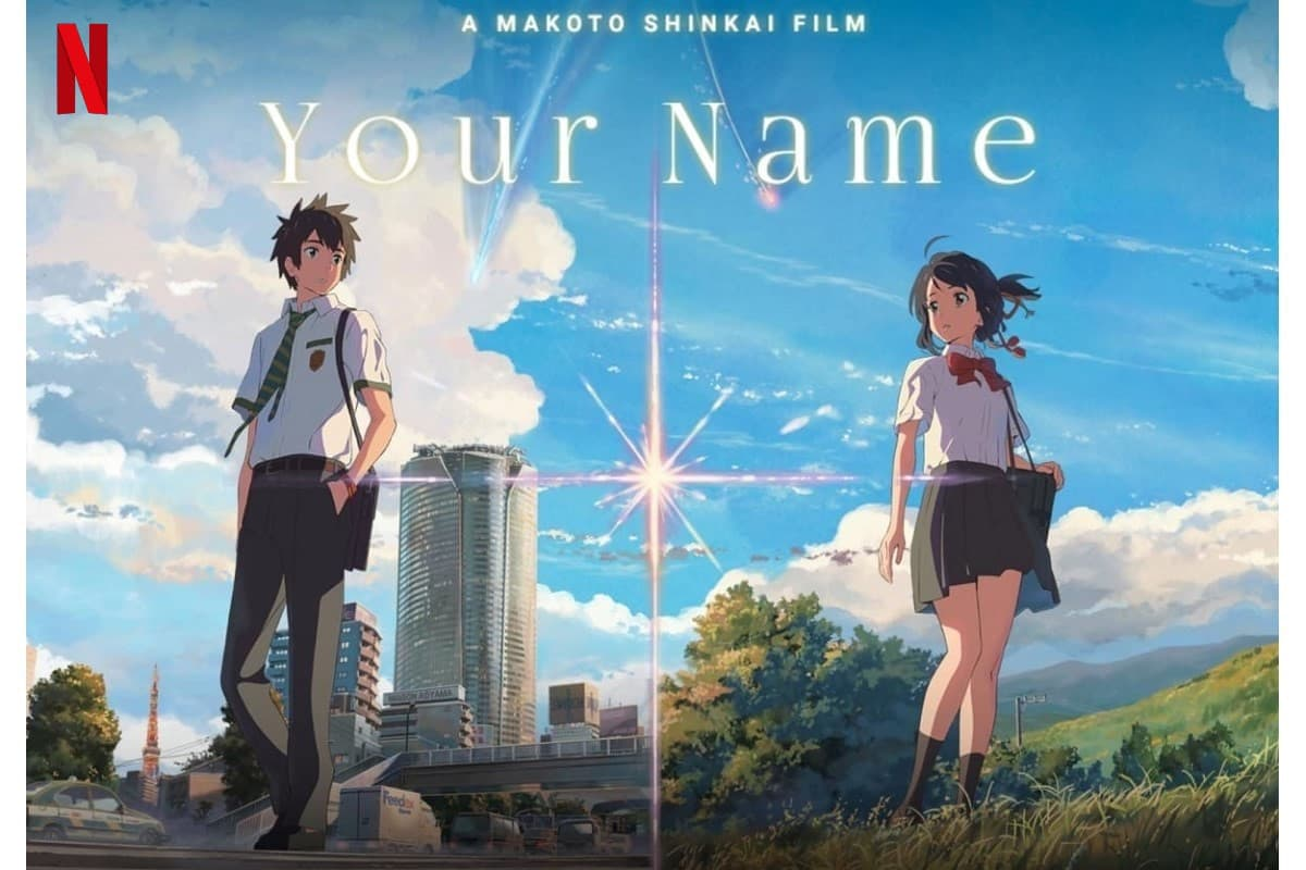 Your Name est maintenant disponible sur Netflix