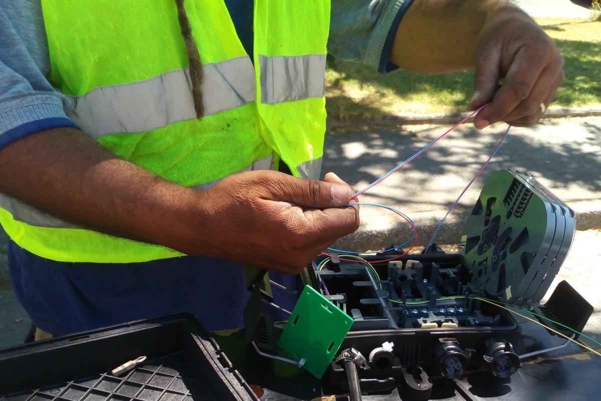 Déploiement de la fibre optique en Bretagne