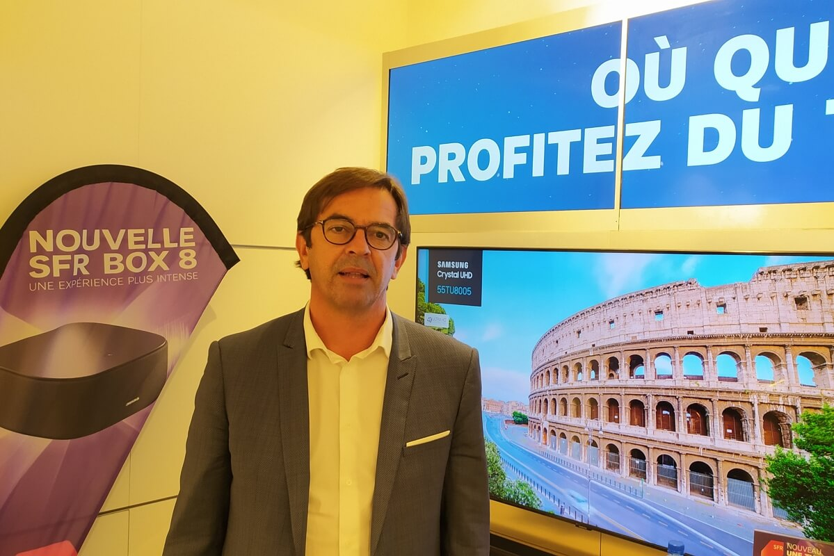 Franck Coudrieau, délégué régional Ouest de SFR