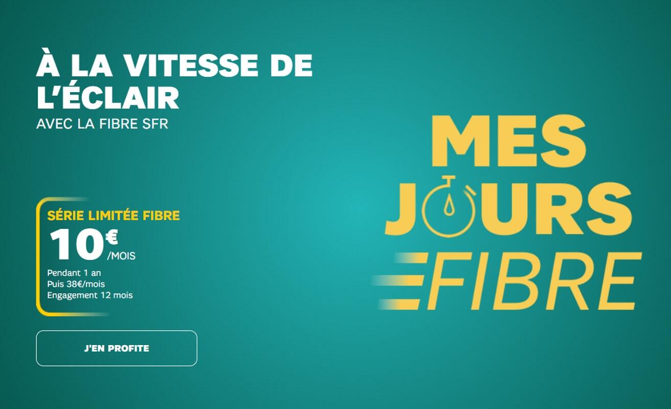 Comparatif : la promo box  SFR à 10 €/mois face aux autres opérateurs