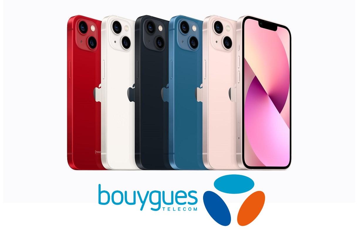 Lancement de l'iPhone 13 : des prix attractifs avec Bouygues Telecom