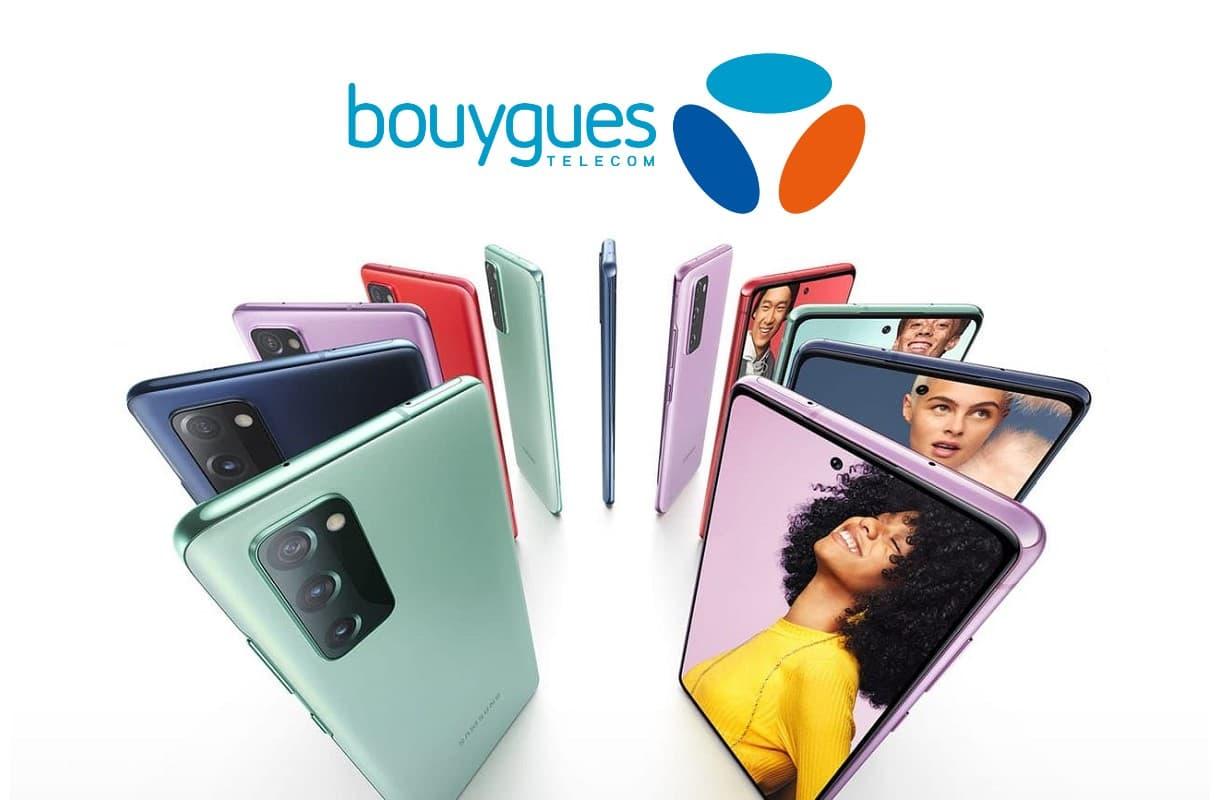 Le Samsung Galaxy S20 FE à partir de 21€ grâce à la vente flash Bouygues Telecom