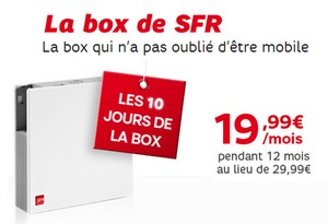 vente flash 10 jours de la box de sfr