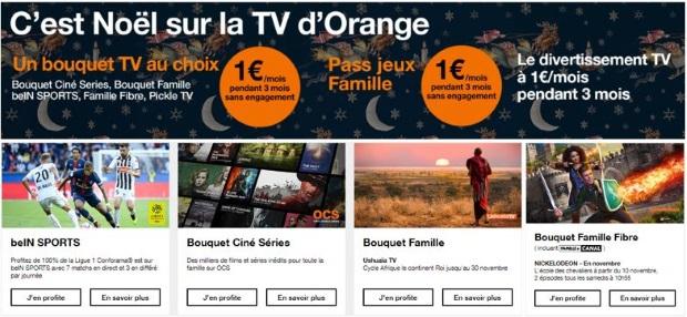 OCS, beIN SPORTS : les bouquets à prix réduit sur la TV d'Orange