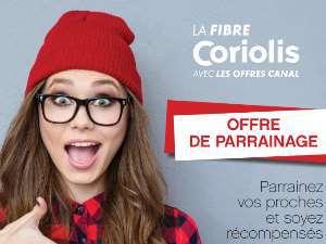 Offres parrainage fibre Coriolis Telecom mobiles