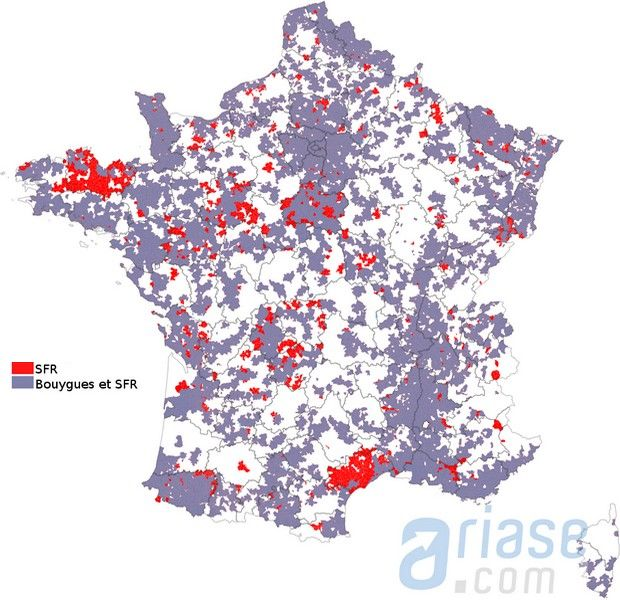 Différence dégroupage SFR Bouygues