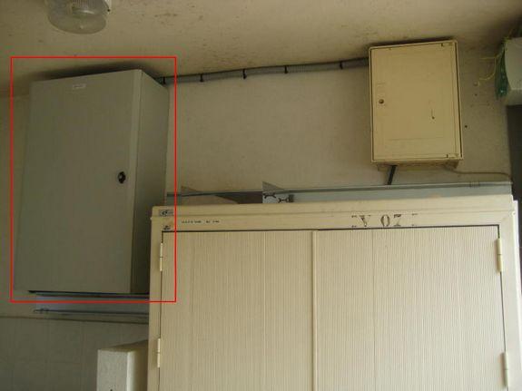 Boitier de déport optique sur un sous répartiteur ADSL