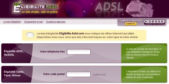 Le test Eligibilite-ADSL passe en version 7.0 !