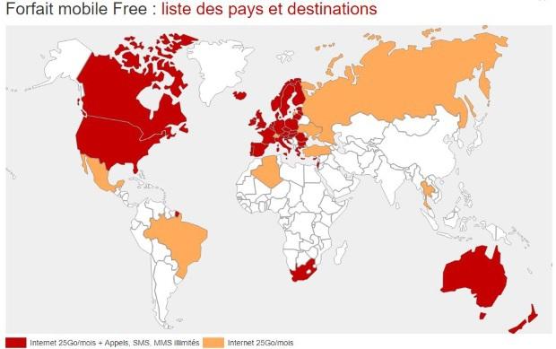 free appel gratuit vers quel pays