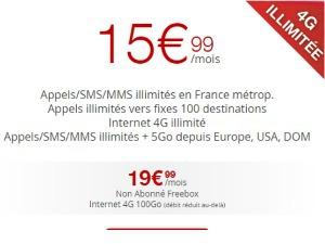 abonnement free fixe et mobile et internet