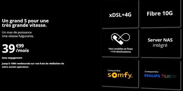 Freebox Delta à 39,99€/mois sans décodeur