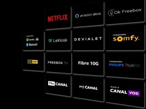 Les services inclus dans la Freebox Delta : Netflix, Amazon, Spotify, Somfy