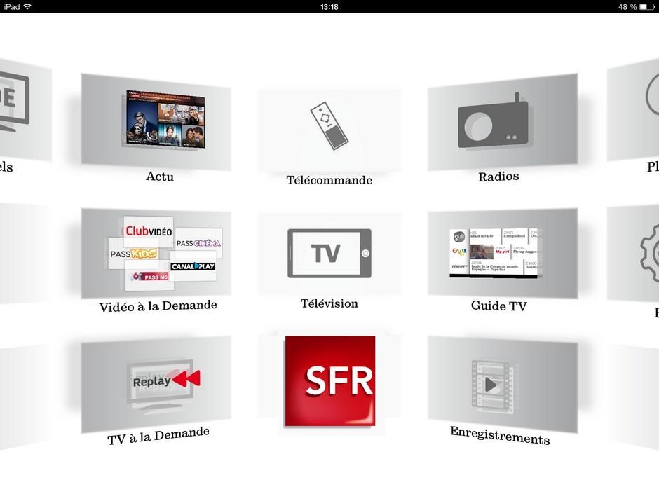 Avec Lapplication SFR TV La De Est Sur Tous Vos Ecrans