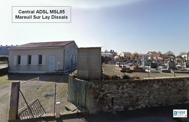 central ADSL MSL85
