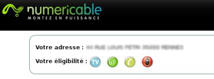 téléphonie mobile Numericable