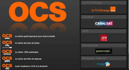 OCS est désormais diffusé sur la Freebox