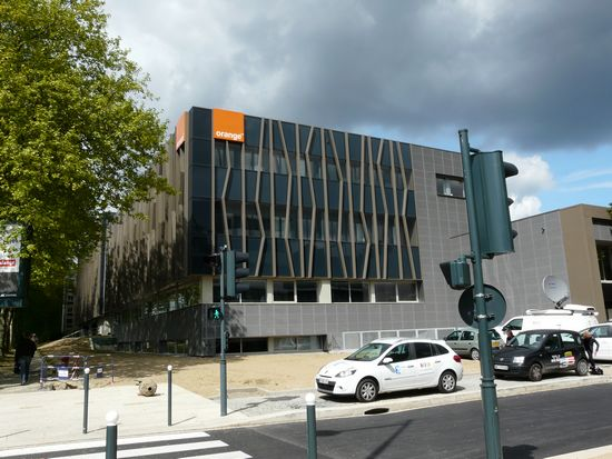 Orange Avenue inauguré à Rennes
