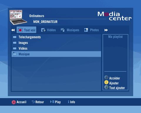 Media Center Neuf