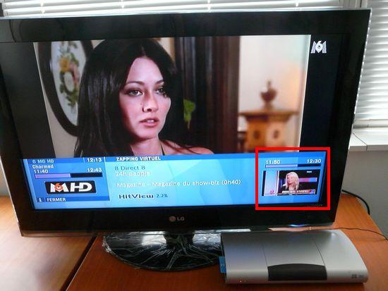 Picture In Picture (PiP) sur le décodeur TV Neufbox de SFR