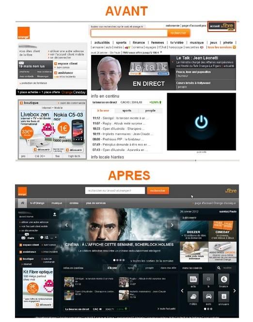 Nouveau portail web La Fibre d'Orange en version beta