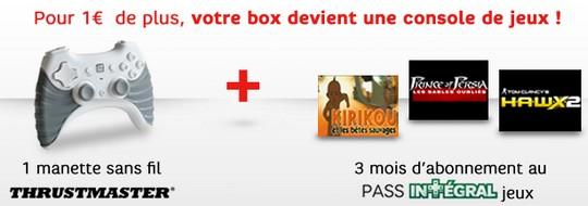 3 mois de Pass intégral SFR à 1€