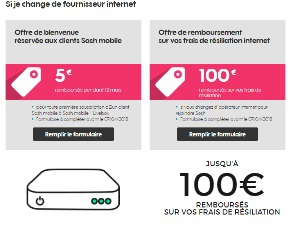 Box Internet 4p Sans Engagement De Duree De Contrat Free Red Ou
