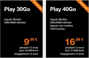 Orange : forfaits mobiles en promo