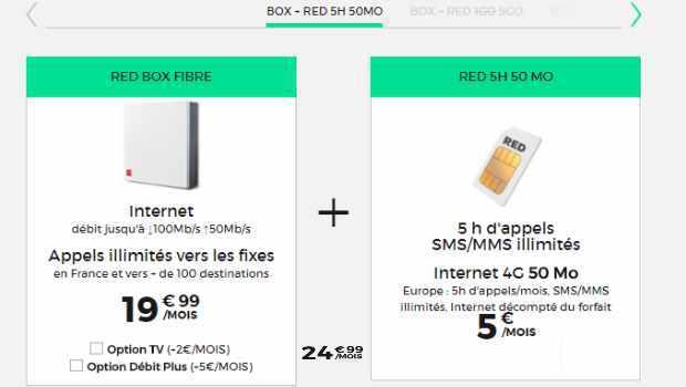ffc778665f3 RED ou Sosh   quelle est la meilleure offre sans engagement Box internet  avec forfait mobile