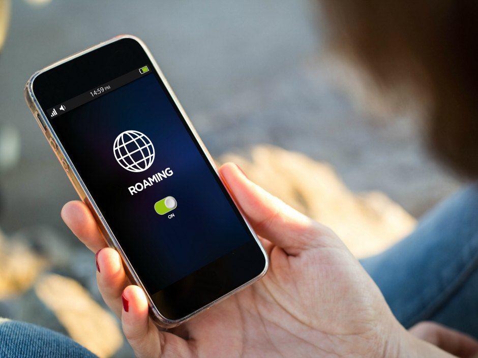 Téléphone portable en roaming à l'étranger