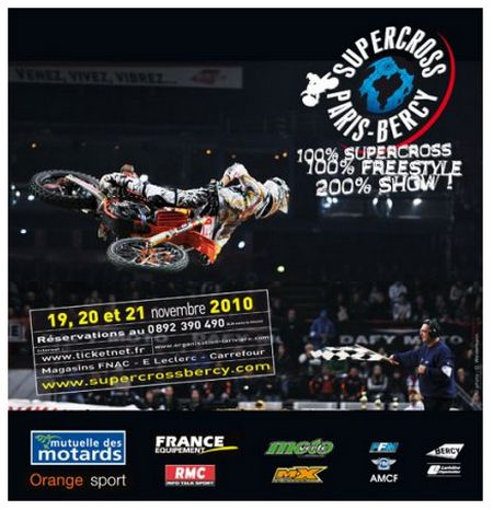 Le supercross de Bercy en 3D sur la TV d'Orange