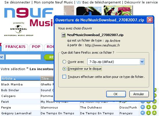téléchargement Neuf Music