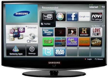 TV connectée Samsung avec son service Internet@TV
